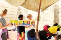 Women at the Well, Haiti