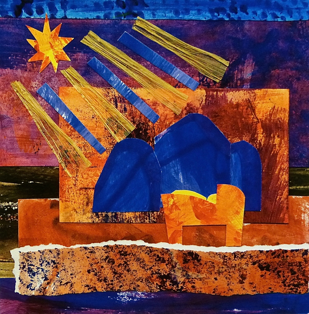 Collage Nativity Gicleé Prints (1/2)
